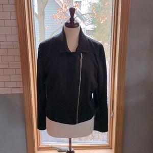 Jules and Leopoldo XL/TG black jacket